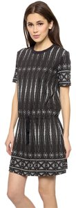 Tory Burch short dress Black white Cover Up Summer on Tradesy