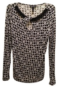INC International Concepts Unc Geometric Print Tunic