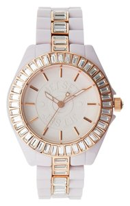 Jet Set Jet Set JETJ15148-05 St. Tropez Light Pink Plastic Watch NIB $240