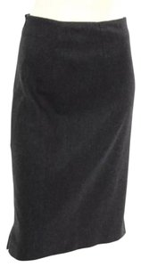 Armani Collezioni Pencil Business Classy Conservative Armani Skirt Charcoal Grey