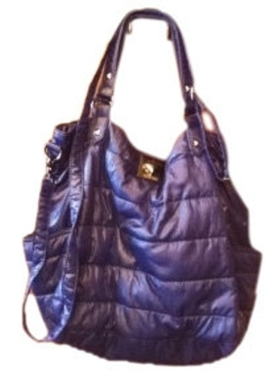 Preload https://item5.tradesy.com/images/kenneth-cole-reaction-puffer-handbag-blue-polyester-tote-12949-0-0.jpg?width=440&height=440