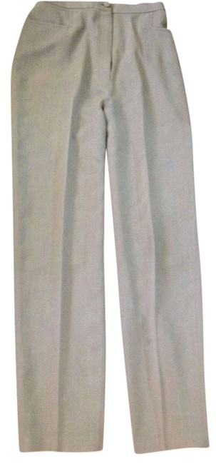 Item - Pale Green Lt. Weight Wool Made In Usa Pants Size 6 (S, 28)