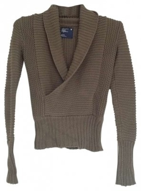 Preload https://item4.tradesy.com/images/american-eagle-outfitters-olive-green-knit-sweaterpullover-size-0-xs-129503-0-0.jpg?width=400&height=650
