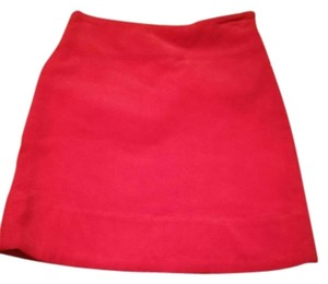Castaway Nantucket island Skirt bright red