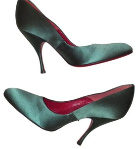 Cesare Paciotti Green Pumps