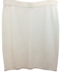 St. John Evening Pencil Skirt CREME