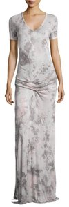 Pink and Gray Maxi Dress by Young Fabulous & Broke Tiedye Yfb Maxi
