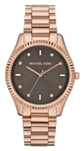 Michael Kors Nwt Blake brown dial rose gold tone Watch MK3227