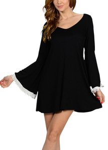 Bellino short dress Black on Tradesy