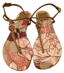 Tory Burch Elodie Gold Nude Sandals