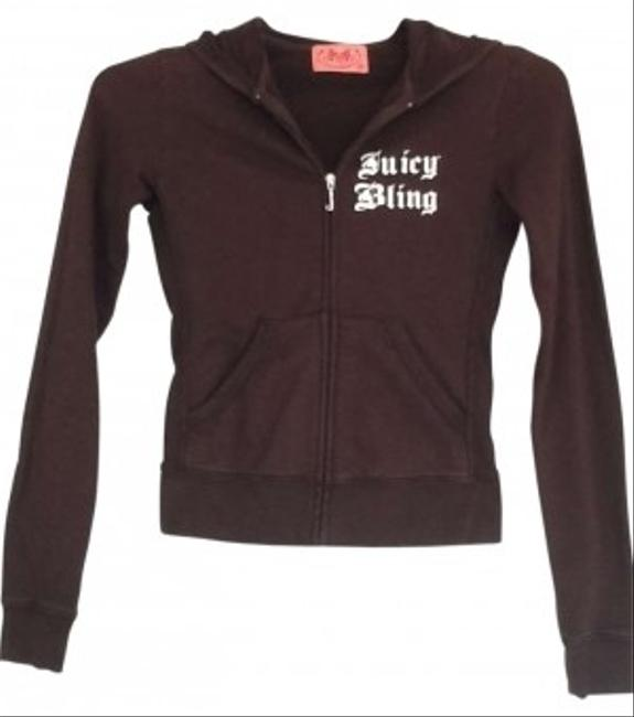 Preload https://img-static.tradesy.com/item/129518/juicy-couture-brown-zip-front-sweatshirthoodie-size-0-xs-0-0-650-650.jpg