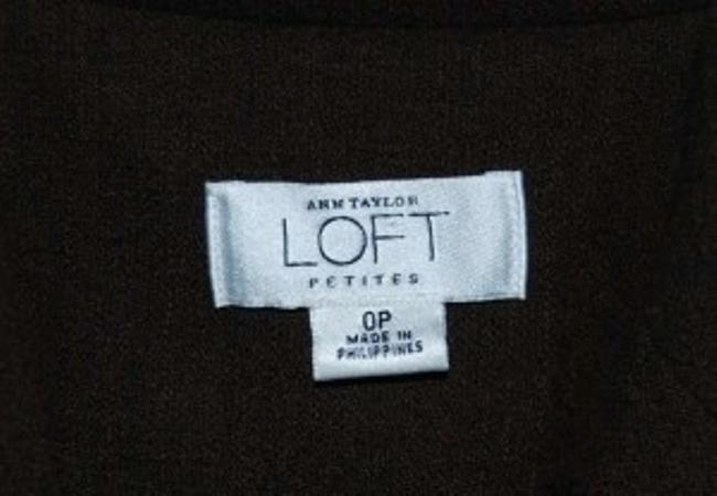 Ann Taylor LOFT Brown/Rust Blazer