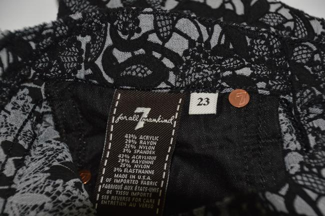 7 For All Mankind Skinny Pants Black