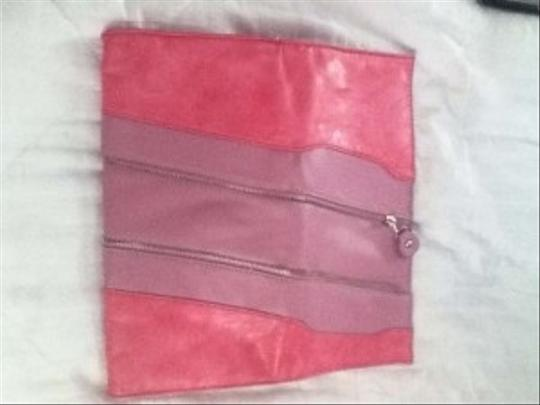 Other Two Tone Pink Clutch