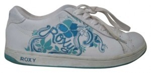 Roxy White and Blue Athletic