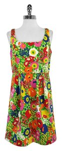 Shoshanna short dress Bright Floral Cotton on Tradesy