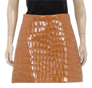 Miu Miu Mini Skirt Brown