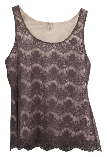 Item - Grey Over White Top
