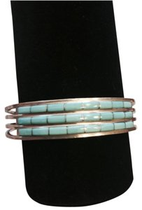 Other Sterling silver and turquoise cuff bracelet