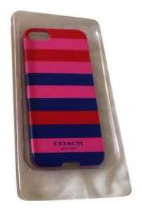 Coach Coach Multi Colored Stripped Iphone 5 Case