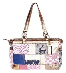 Coach Tote in Multi-colored