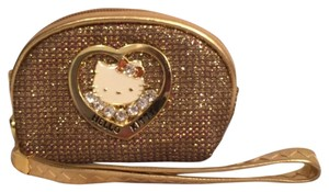 Hello Kitty Kids Cion Kid Wristlet in Gold