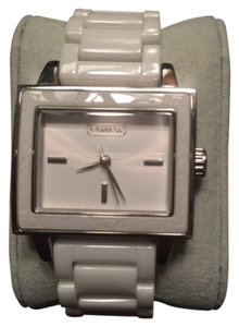 Coach Coach Ceramic, White Watch