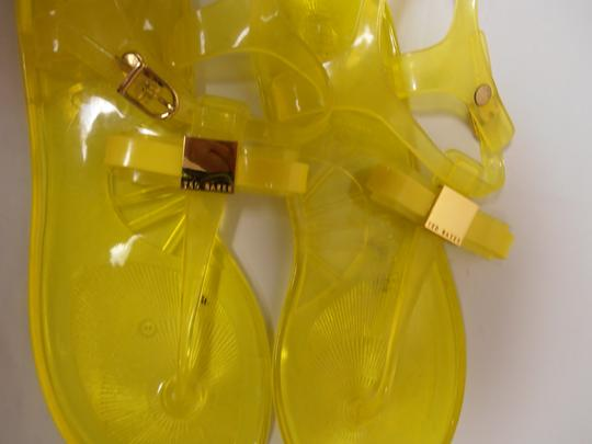 Ted Baker Jelly Neon Yellow Sandals #2: ted baker gold jelly sandal neon yellow sandals 1 0 width=440&height=440