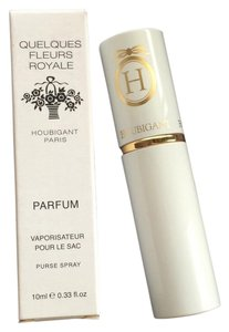House of Houbigant Quelques Fleurs Royale Parfum Purse Spray .33 oz