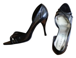 Rampage Junior High Heel Fashion Black Pumps