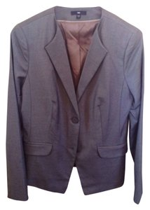 Gap Suit Fitted Grey Blazer