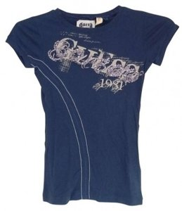 Guess T Shirt Blue