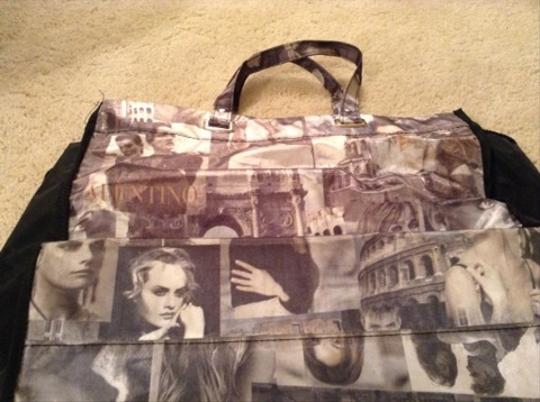 Other Satchel in Black White Gray