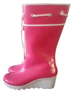 Sperry Wedge Pink Boots