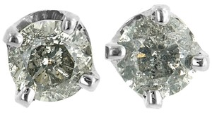 ABC Jewelry Brilliant Cut Diamond Earrings 2