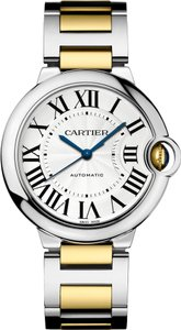 Cartier Cartier Ballon Bleu W6920047 Stainless Steel and 18k Watch (12125)