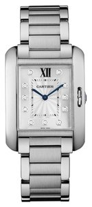 Cartier Cartier Tank Anglaise W4TA0004 Stainless Steel Automatic Watch (12163)