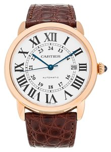 Cartier Cartier Ronde Solo W6701009 18k Rose Gold Automatic Watch (12169)