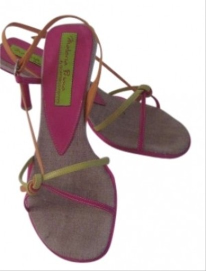 Preload https://item3.tradesy.com/images/pink-green-and-orange-sandals-size-us-75-129587-0-0.jpg?width=440&height=440