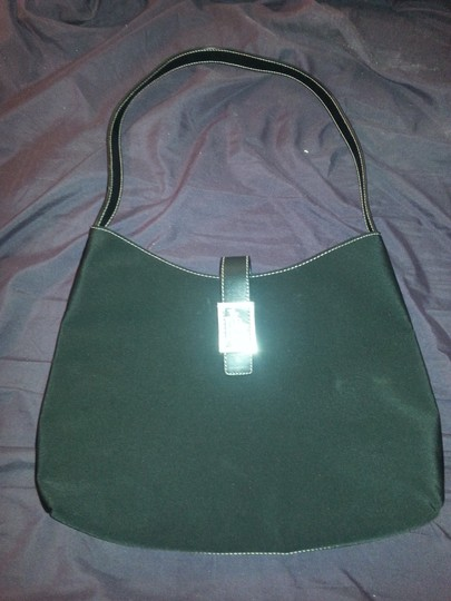 Ralph Lauren Chrome Nylon Silver Handbag Shoulder Bag