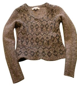 Ann Taylor LOFT Wool Rayon Metallic Sweater