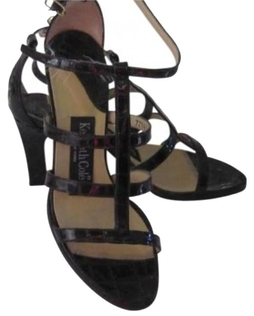 Kenneth Cole Chocolate Brown High Heel Sandals Size US 7 Kenneth Cole Chocolate Brown High Heel Sandals Size US 7 Image 1