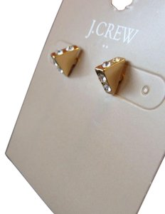 J.Crew NWT J. Crew Earrings + J. Crew Pouch