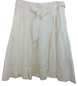 Grace Elements Linen Skirt WHITE