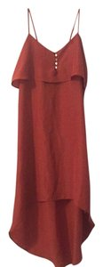 Burnt orange Maxi Dress by 5th Culture