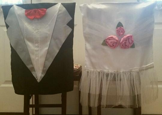 Bride And Groom Chair Covers