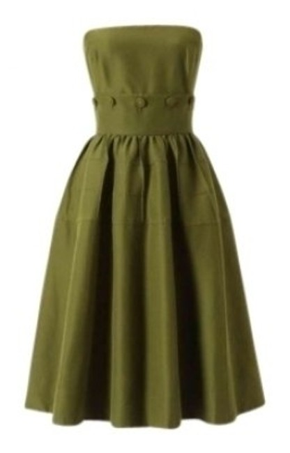 Preload https://item2.tradesy.com/images/maeve-olive-green-anthropologie-mad-men-retro-swing-marilyn-monroe-throwback-above-knee-night-out-dr-129596-0-0.jpg?width=400&height=650