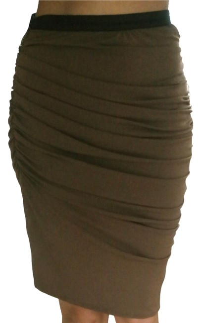 Factory by Erik Hart Skirt Brown