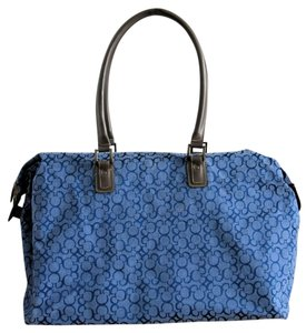 Disney Discontinued Style blue Travel Bag