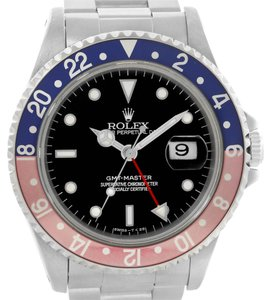 Rolex Rolex GMT Master Red Blue Pepsi Bezel Date Mens Watch 16700